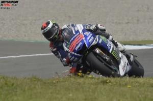 © Yamaha - Jorge Lorenzo fährt seiner Form aus den vergangenen Jahren hinterher
