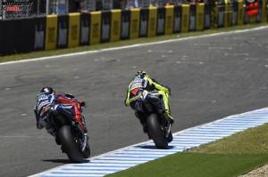 © Yamaha Motor Racing Srl - Jorge Lorenzo tut sich in dieser Saison schwer, Valentino Rossi zu bezwingen