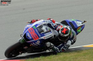© Pacepix.com - Jorge Lorenzo konnte die Pace der Honda-Piloten am Sachsenring nicht ganz mitgehen