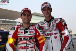 © Pata Honda - Leon Haslam und Michael van der Mark gehen als Favoriten ins Rennen