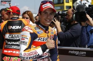 © Repsol - Marc Marquez war auch am Sachsenring wieder zu schnell für die Konkurrenz