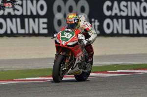 © Aprilia Racing - Beim Heimrennen in Misano konnte Marco Melandri nicht gewinnen