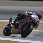 © Aprilia Racing - Marco Melandri führte das Rennen von Runde eins bis ins Ziel an