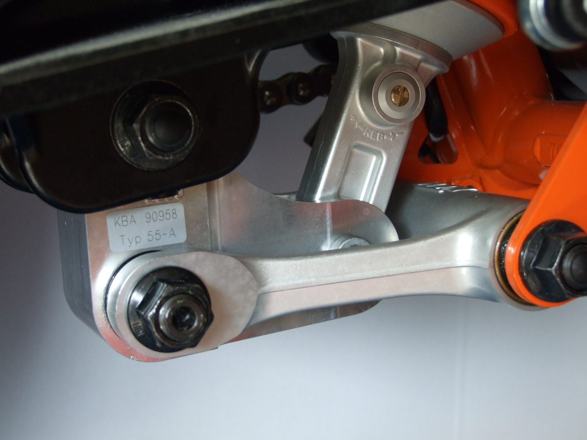 Lowering Kit For Ktm Duke