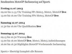 Sachsenring Sport1