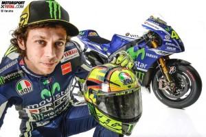 © Yamaha - Valentino Rossi wird auch in den nächsten beiden Jahren für Yamaha in der MotoGP  fahren