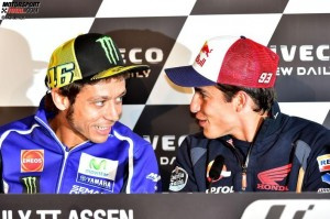 © FGlaenzel - Valentino Rossi glaubt, dass Marc Marquez 2014 alle MotoGP-Rennen gewinnen kann