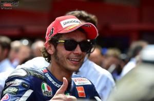 © FGlaenzel - In Valentino Rossi brennt die Leidenschaft für den Rennsport weiter