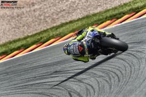 © Yamaha Motor Racing Srl - Valentino Rossi ist auch in seiner 19. WM-Saison konkurrenzfähig