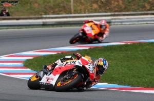 © Honda - Dani Pedrosa beendete in Brünn die Siegesserie von Marc Marquez