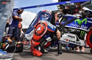 © FGlaenzel - Werkspilot Jorge Lorenzo wird zwei weitere Jahre für Yamaha fahren