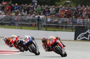 © Repsol - Silverstone 2013: Jorge Lorenzo mischt die Hondas auf und siegt auf dramatische Art