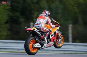 © Honda ProImages - Honda-Werkspilot Marc Marquez hat seine Gegner meistens im Griff