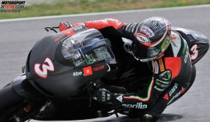 © Aprilia Racing - In Vorbereitung auf das Aprilia-Comeback saß Max Biaggi bereits auf der ART