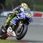 © Yamaha Motor Racing Srl - Valentino Rossi fuhr die Bestzeit mit dem harten Hinterreifen