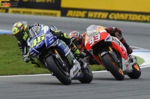 © Yamaha Motor Racing Srl - Valentino Rossi wurde in Brünn hinter Dani Pedrosa und Jorge Lorenzo Dritter