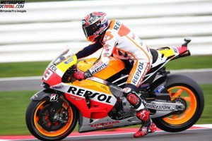 © Honda Pro Images - Marc Marquez konnte sich am Ende wieder einmal die beste Startposition sichern