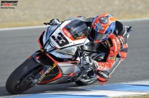 © Aprilia Racing - Marco Melandri gewann vor seinem Aprilia-Teamkollegen Sylvain Guintoli