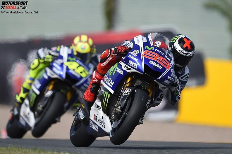 Valentino Rossi, Jorge Lorenzo - © Yamaha Motor Racing Srl