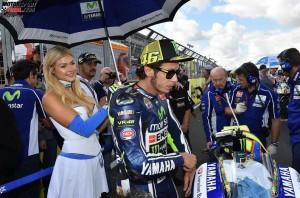 © FGlaenzel - Publikumsliebling Valentino Rossi gewann mit Yamaha vier WM-Titel