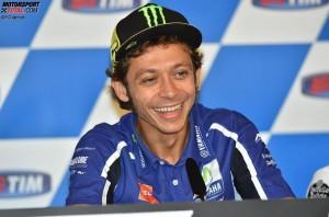 © FGlaenzel - Yamaha-Pilot Valentino Rossi verpasste im Vorjahr das Podium in Misano