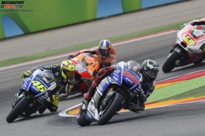 Jorge Lorenzo, Valentino Rossi - © Yamaha Motor Racing Srl