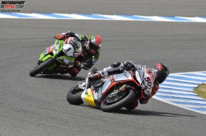 Sylvain Guintoli, Tom Sykes - © Aprilia Racing