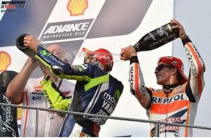Valentino Rossi, Marc Marquez - © FGlaenzel
