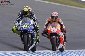 Valentino Rossi, Marc Marquez - © Yamaha Motor Racing Srl