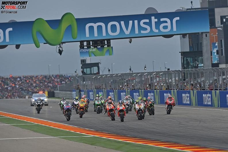 MotoGP Start - © FGlaenzel