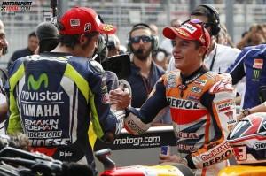 Marc Marquez, Valentino Rossi -  © Repsol