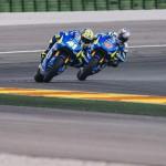 Maverick Vinales, Aleix Espargaro - © www.suzuki-racing.com