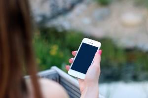 Mit dem Smartphone kann das nächstgelegene Carsharing-Auto geortet werden.