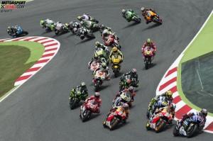 MotoGP Start - © Tech 3