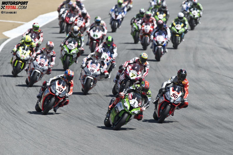 Superbike Start - © Kawasaki