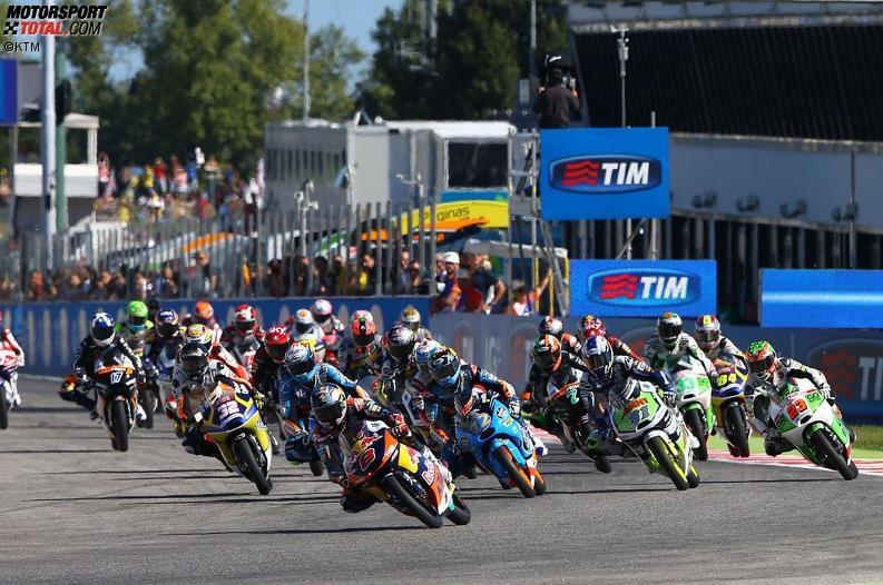 Moto3 Start - © KTM