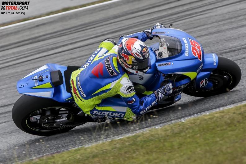 Maverick Vinales - © Suzuki Racing