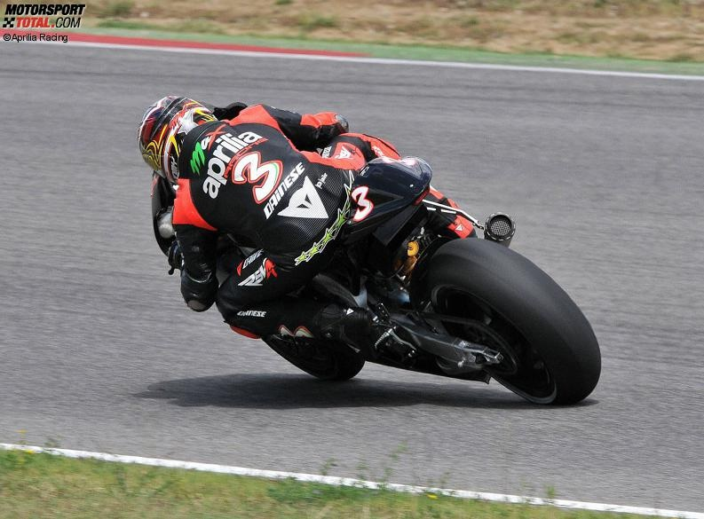 Max Biaggi - © Aprilia Racing