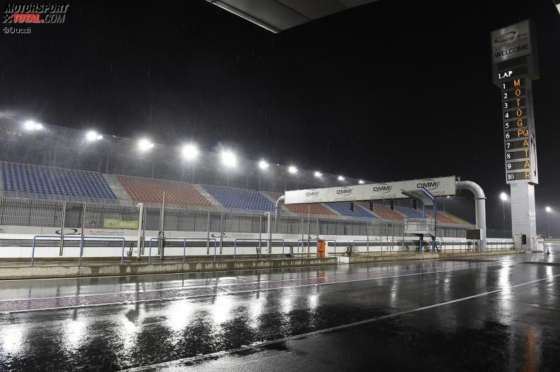 Regen in Katar - © Ducati
