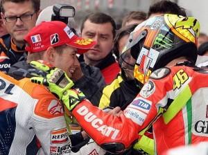 Casey Stoner, Valentino Rossi - © Repsol