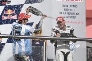 Valentino Rossi, Cal Crutchlow - © Yamaha