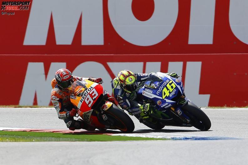 Valentino Rossi, Marc Marquez - © Repsol