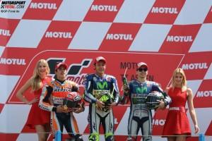 Valentino Rossi, Marc Marquez, Jorge Lorenzo - © GP-Fever.de