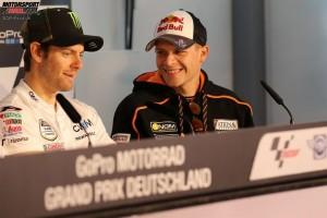 Cal Crutchlow, Stefan Bradl - © GP-Fever.de