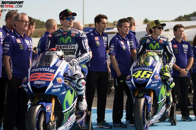 Valentino Rossi, Jorge Lorenzo - © GP-Fever.de