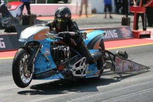 Ian King GB, Multichampion, Klasse Top Fuel Bike