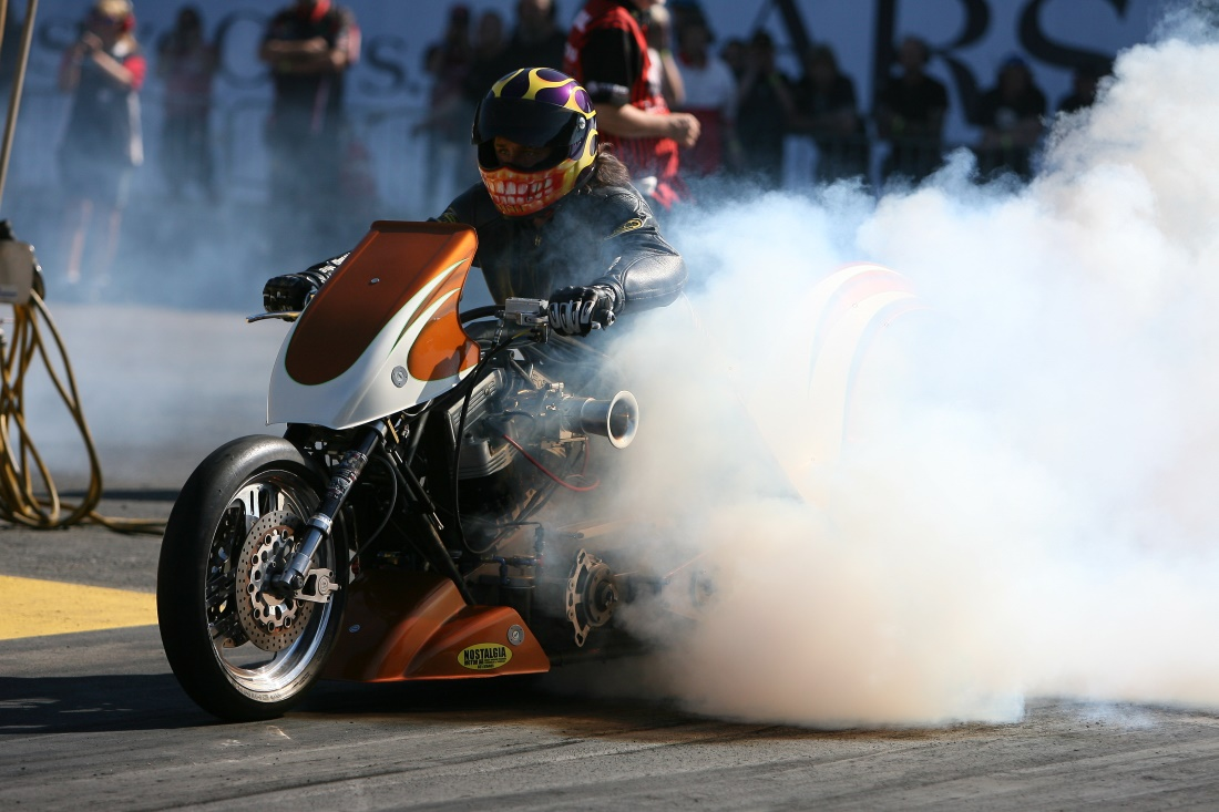 Anders Hörnström - Super Twin Top Fuel Bike