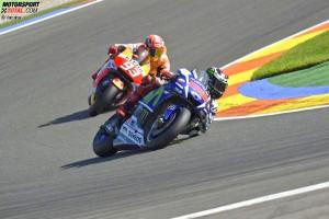 Jorge Lorenzo, Marc Marquez - © Yamaha