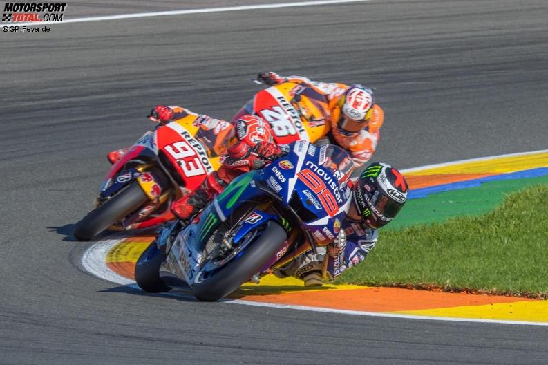 Jorge Lorenzo, Marc Marquez, Daniel Pedrosa - © GP-Fever.de