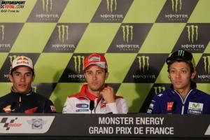 Marc Marquez, Andrea Dovizioso, Valentino Rossi - © GP-Fever.de